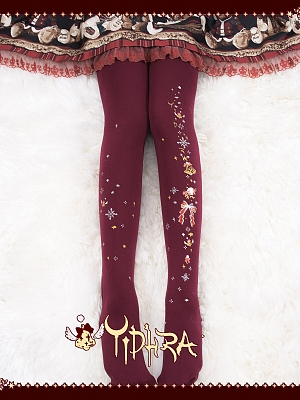 Jingle Bells I Christmas 300D Tights by Yidhra