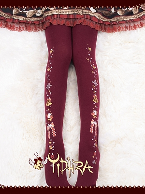 Jingle Bells II Christmas 300D Tights by Yidhra