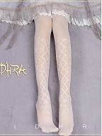Starry Sky Dance Party Lolita Overknee Stockings by Yidhra