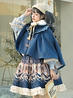 Explore The Stars Classic Lolita Matching Cape by YINGLUOFU