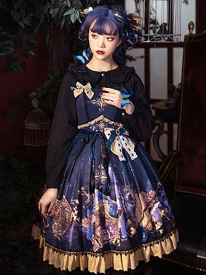Immortal Bottle Lolita Dress JSK by YINGLUOFU