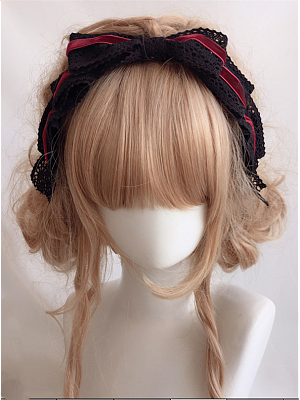 Handmade Gothic Lolita Lace Bowknot KC by Ye Mo