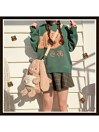 Detective Bunny Plush Lolita Backpack Crossbody Bag by Yuni Fairy