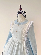 Alice in The Forest Lolita Dress Matching KC / Hairclip by Your Highness