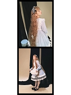 Alice in The Forest Lolita Dress Matching Overdress (Apron) by Your Highness