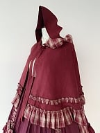 Little Red Riding Hood Lolita Dress Matching Cape by Your Highness