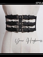 The Nun Military Gothic Lolita Girdle by Your Highness