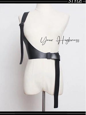 Cool Gothic Lolita Waistbelt by Your Highness