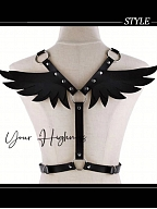 Judge Military Lolita Waistbelt  with Wings Back by Your Highness