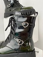 Poison Punk Lolita Martin Boots by Your Highness