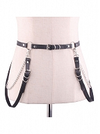 Military Lolita Waistbelt with Straps by Your Highness