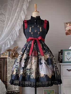 Nightingale and Rose Lolita Dress JSK by Yueshuying