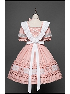Shamil Series Sweet Lolita Dress Matching Apron by YUPBRO Lolita