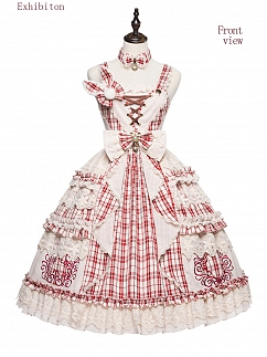 Miss Rabbit Sweet Lolita Dress JSK by YUPBRO Lolita