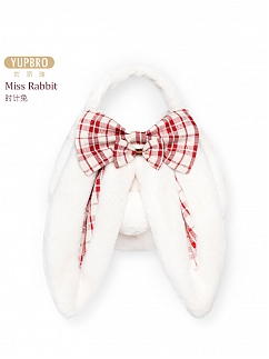 Miss Rabbit Sweet Lolita Ears Plush Bag by YUPBRO Lolita