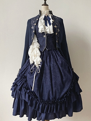 Age Of Wind Series Ouji Lolita Vest by Zjstory