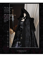 The Revelation Elegant Hooded Lolita Cape by Zjstory