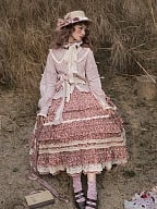 Little Blanca Country Style Lolita Shirt by Zjstory