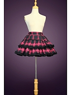Ready to Ship - Cool Skirt with Free Waistbelt by Lollipops Lolita