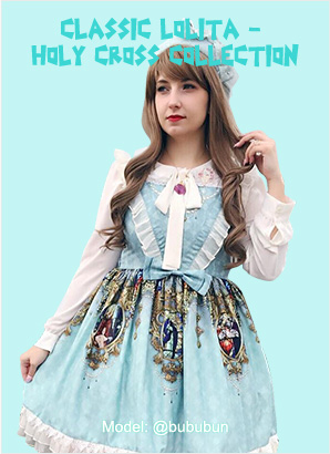classic lolita dresses holy cross collection by souffle song